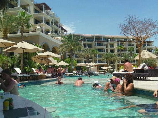 Casa Dorada Los Cabos Resort & Spa: Picture taken from Swim up bar stool