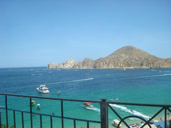Casa Dorada Los Cabos Resort & Spa: View of Land's End from our Penthouse! Gorgeous!!