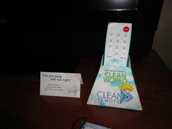 BEST WESTERN PLUS Landmark Inn: 'Clean' Remote