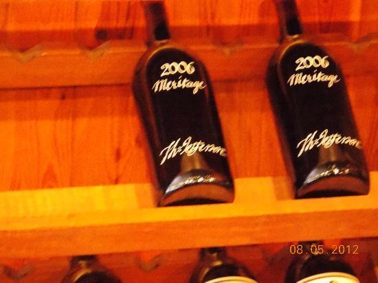 Jefferson Vineyards: 2 of their award winning wines