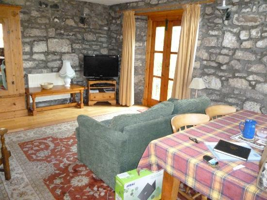 East Lochhead Cottages : Living area