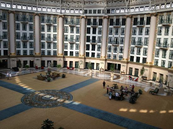 West Baden Springs Hotel: Inside the dome.