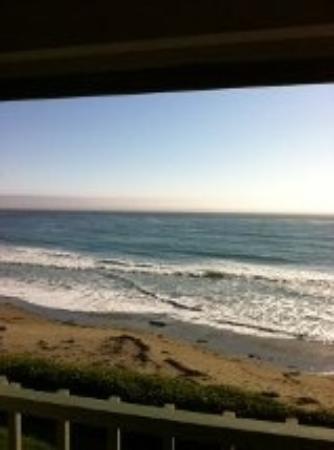 Cavalier Oceanfront Resort: View from balcony of Room 277
