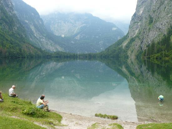 Hotel Koppeleck : Obersee near the hotel
