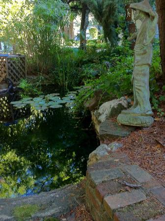 Calderwood Inn: Peaceful pond
