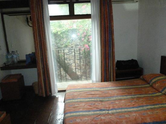 Hotel Hacienda Cocoyoc: vista al arbol