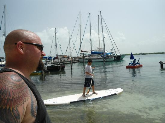 El Milagro Beach Hotel and Marina: Free paddle-boards!