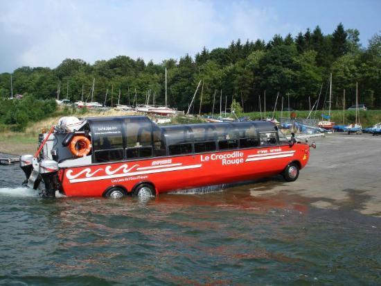 The Eau d'Heure Lakes: le crocodile rouge