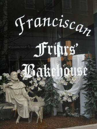 Friars' Bakehouse: Friars' Front Window