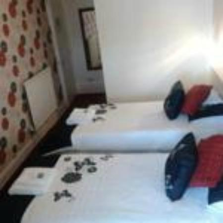 The Sands Hotel: This room is a triple room sleeps 3 seaview
