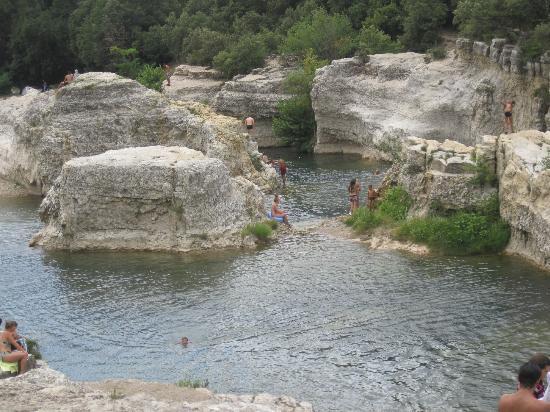 Cascades du Sautadet : cascade