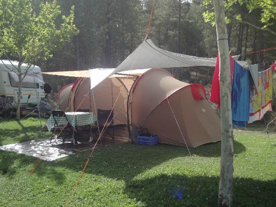 Camping Caravaning Cuenca: Nuestra casita de verano jejejejeje