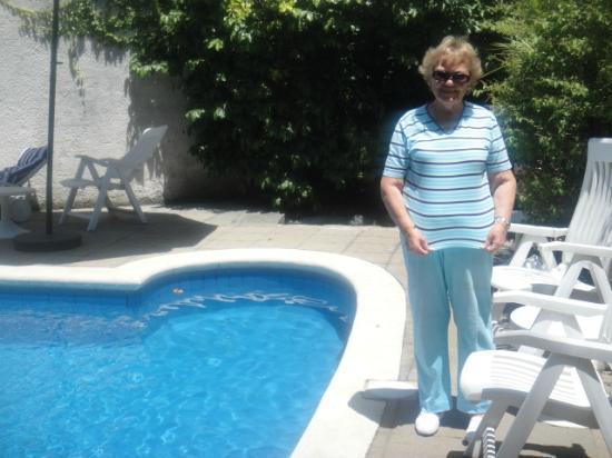 Regency Suites Hotel-Montevideo: Tomando sol