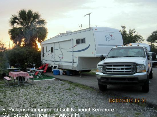 "Fort Pickens Campground: Ft Pickens ""A"" Loop"
