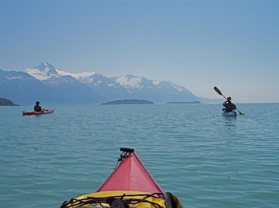 Haines, AK: Kayaking in the Lynn Canal - Photo by Andy Hedden