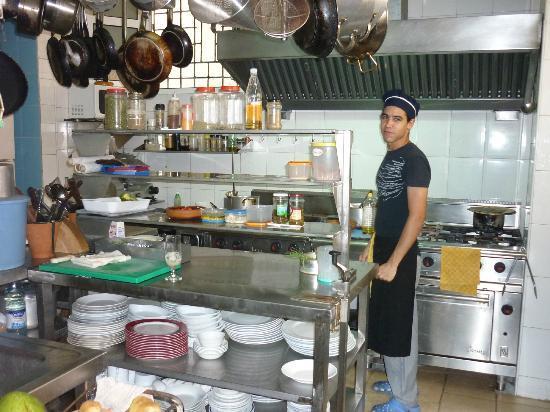 Restaurante Paladar Decamerón : Decameron Kithen view