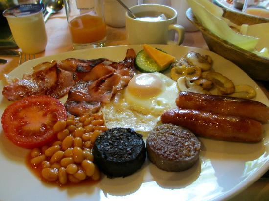 ‪روكسفورد هوتل: Their delicious and generous Irish breakfast‬
