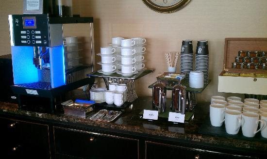 Conference Room Coffee Station