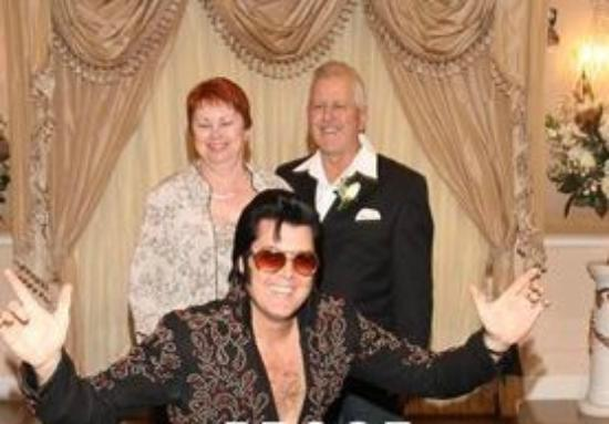 A Storybook Wedding Chapel : 40th Anniversary Vow Renewal with Elvis!