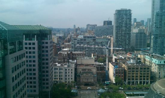 The Ritz-Carlton, Toronto: View from our room