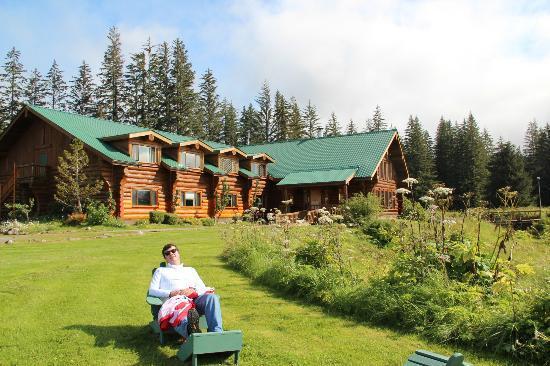 Glacier Bay's Bear Track Inn: Fantastic Landscape