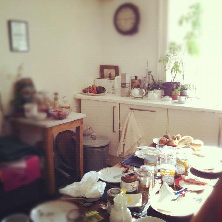 Wallace's Arthouse Scotland: Cucina