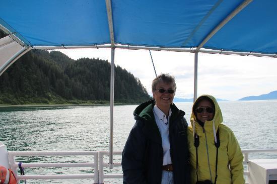 "Glacier Bay's Bear Track Inn: ""The Boss"""