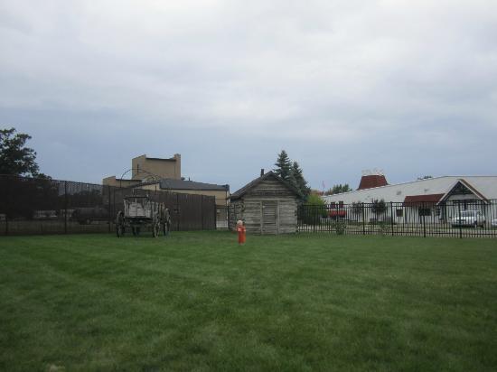 "Runestone Museum: ""village"" area  8/2012"
