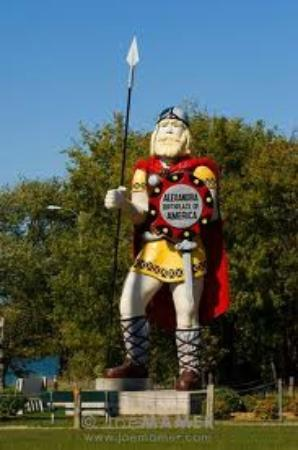 Big Ole Viking Statue: Big Ole, Alexandria Mn