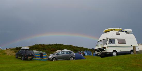 North Morte Farm Caravan & Camping Park: Rainbow