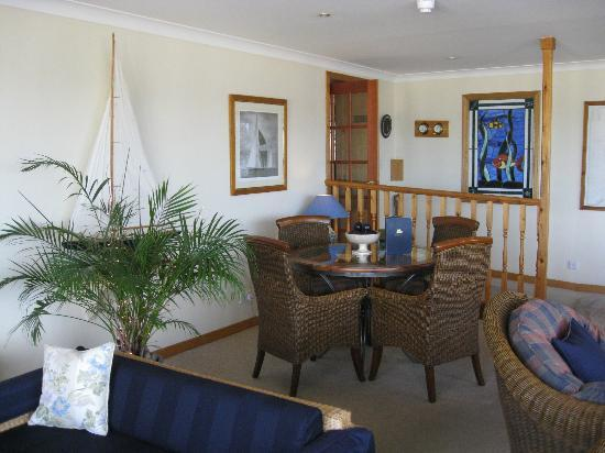 Harbour Inn: In the conservatory