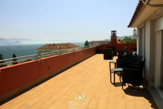 Hotel Villa Covelo: Solarium