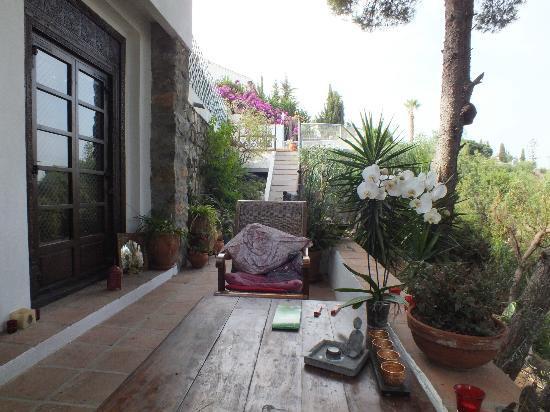 San Nicolas Suites: veranda