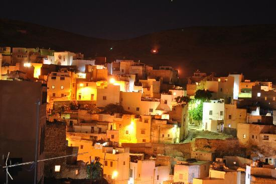 Dar KamalChaoui : Bhalil at Night From the Roof Terrace at Kamal Chaoui