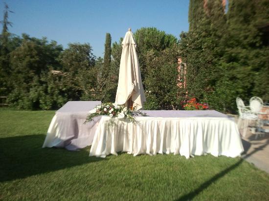 Villa San Michele: l'esterno