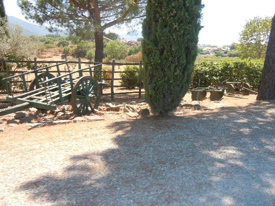Villa San Michele: fuori l'ingresso