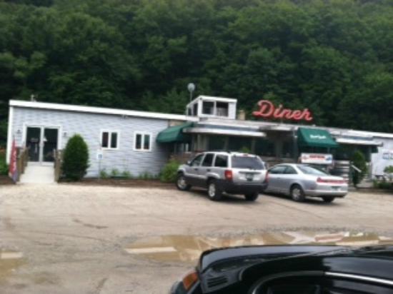 Plain Jane's Diner: Outside of Diner