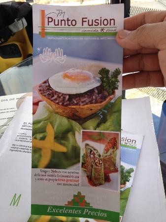Punto Fusion: Comida Colombiana-Costarricense