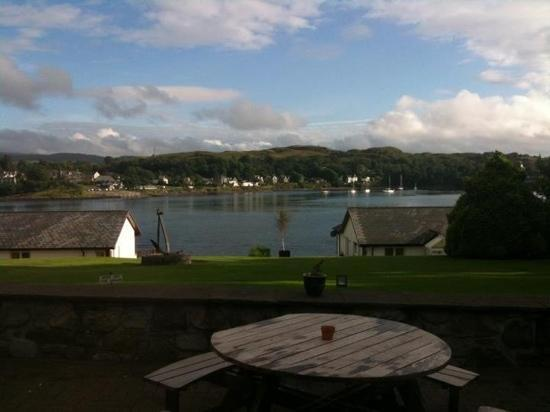 Lochnell Arms Hotel: view from the restaurant