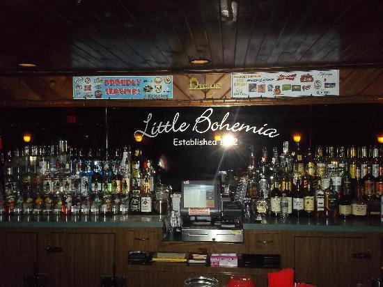 Little Bohemia - The West End Pub & Eatery: Love the Sign!