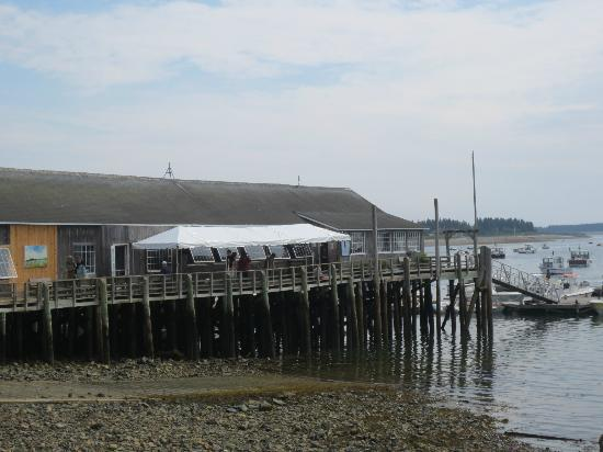 Little Cranberry Island (Islesford), เมน: Isleford Dock Restaurant, Little Cranberry Island, ME