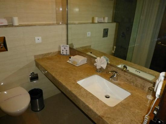 Shervani Nehru Place: Bathroom