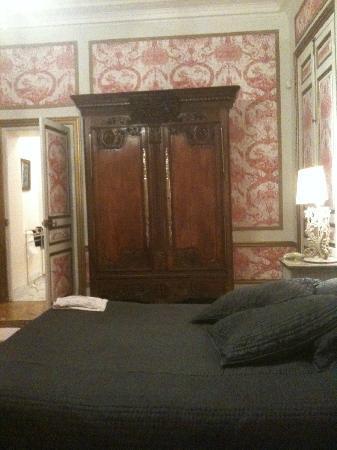Le Chateau des Moyeux: la chambre