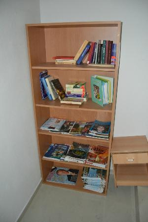 Premium Business Hotel Bratislava: I wouldn't really call this a 'library'...