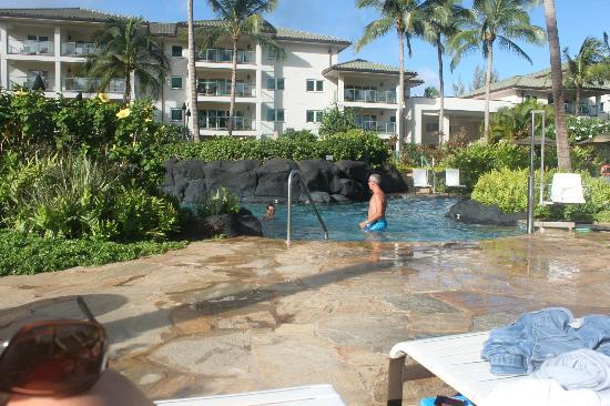 Marriott's Kauai Lagoons - Kalanipu'u: Very pretty pool; quiet and relaxing