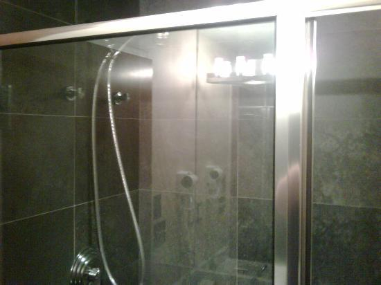 Harborside Inn: Shower