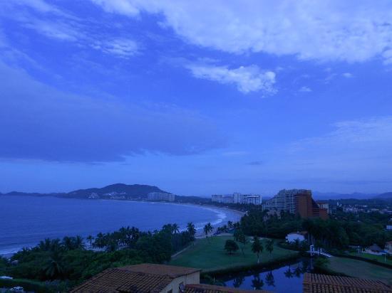 Pacifica Resort Ixtapa: Vista desde la habitación