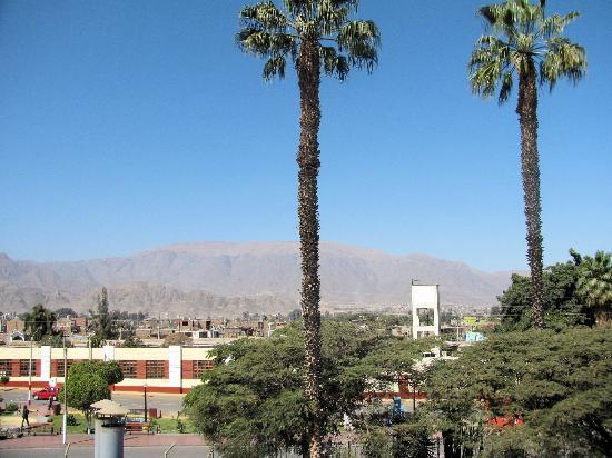 DM Hoteles Nasca: View from Upper Terrace