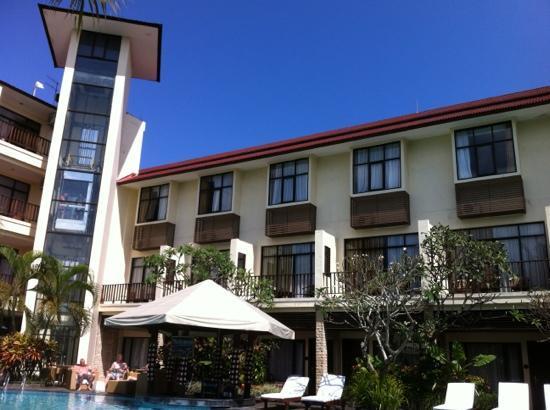 Best Western Resort Kuta: view from pool