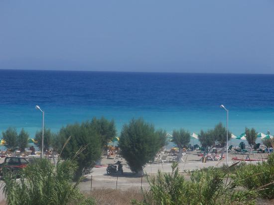 Bayside Hotel Katsaras: Sea view from room 58